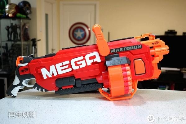 NERF 热火 MEGA系列 B8086 超级威力发射器  开箱、简评、试射