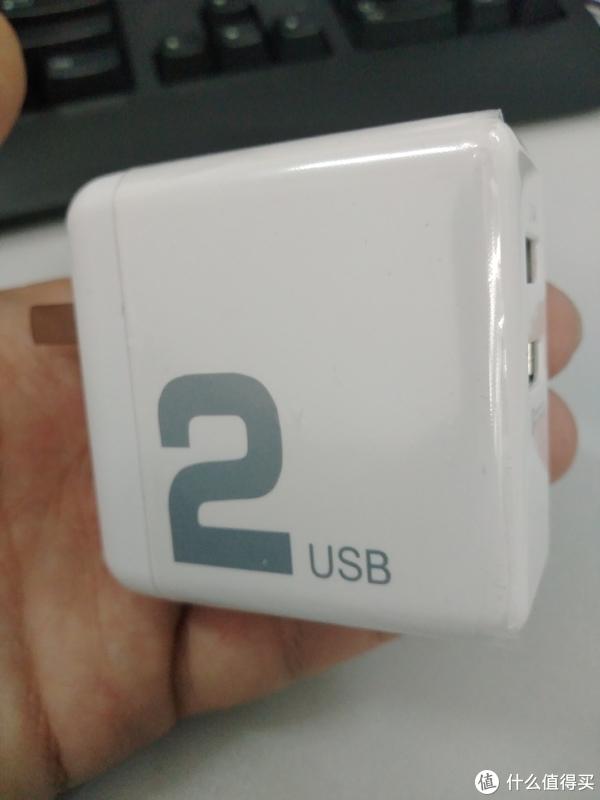 白菜寻好物 篇三:性能实标的快充头:ROCK 洛克 QC3.0 双口USB充电插头 开箱