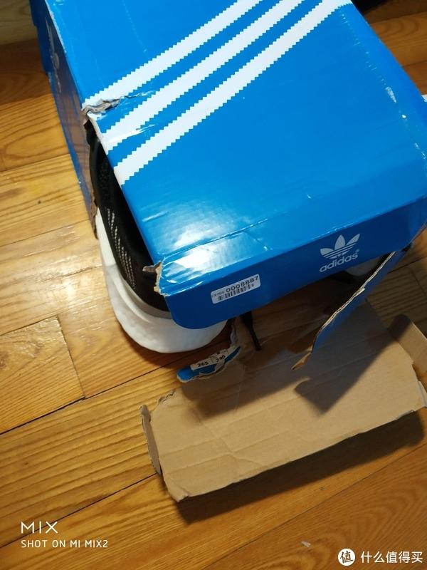 #原创新人#第一次海淘心得+JD SPORTS购买体验+Adidas Originals eqt 93/17 运动鞋简单开箱