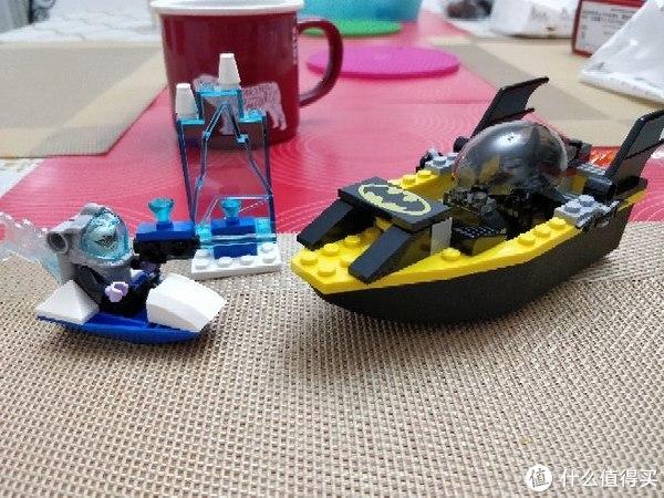 #剁主计划-天津#生日小礼物:LEGO乐高10737蝙蝠侠大战急冻人(小拼砌师)开箱