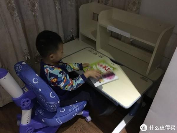 #原创新人#为学前教育做准备,学习桌选购:心家宜 M114+M207L+M623 儿童学习桌椅套装