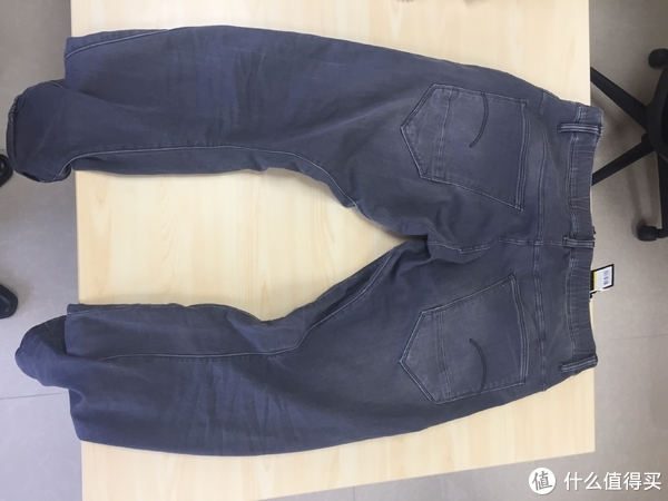 #原创新人#我来晒下值友们群体翻车的牛仔裤:G-Star Raw Arc 3d 男士牛仔裤