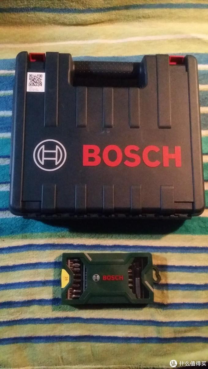 BOSCH 博世 GSR 120-Li 充电钻 开箱及出力