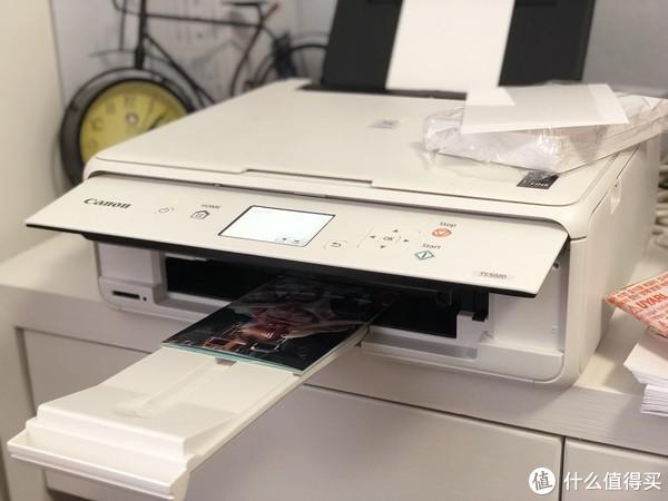 #剁主计划-宁波#Canon 佳能 TS5020 无线彩色照片打印机 简单评测