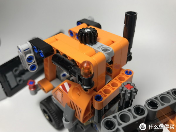 LEGO 乐高 拼拼乐 42060 B模式 带犁头的迷你铺沙机 开箱