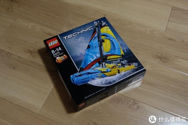 LEGO 乐高 42074赛艇玩具 简单开箱