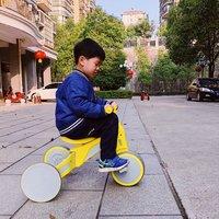 柒小佰变形儿童车骑行使用总结(把手|承重|轮胎|优点)