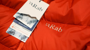 Rab ascent羽绒服穿着体验(重量 保温性 设计)