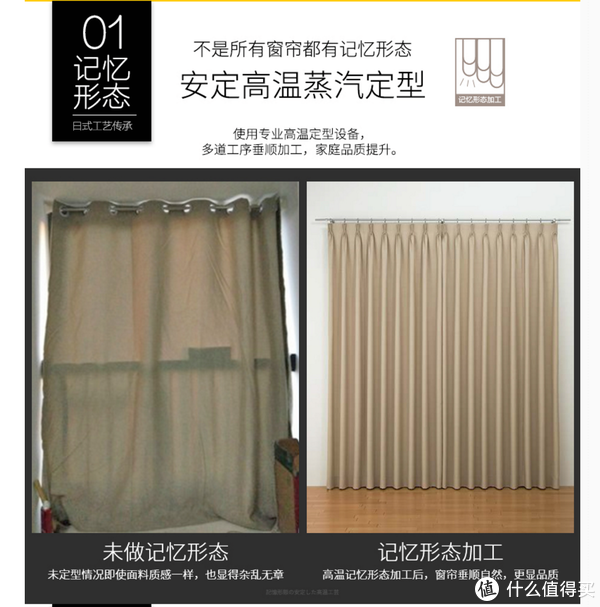 #年后装修焕新家#日式遮光定型窗帘选购指南