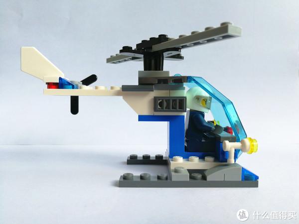 #剁主计划-北京#初玩乐高—LEGO 乐高 30351 警用直升机 开箱