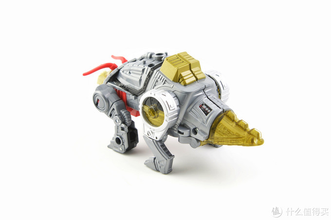 #剁主计划-成都#Hasbro 孩之宝 天元之力 加强级 机器恐龙 铁渣 玩评