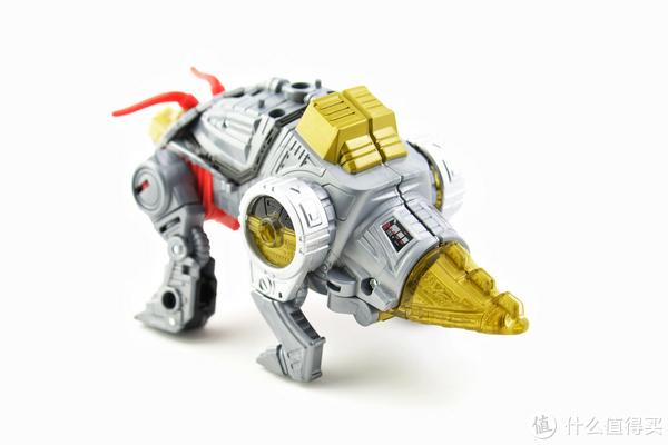 达子说玩具 篇二十三:#剁主计划-成都#Hasbro 孩之宝 天元之力 加强级 机器恐龙 铁渣 玩评