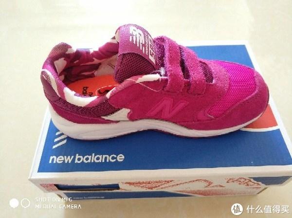 #全民分享季#小公举的鞋子们--NB童鞋KV580晒单