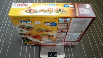 Teifoc 砖瓦别墅建筑模型玩具外观展示(背面 砖块)