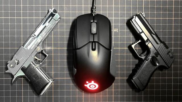 实战利器----SteelSeries 赛睿 Rival 310 游戏鼠标