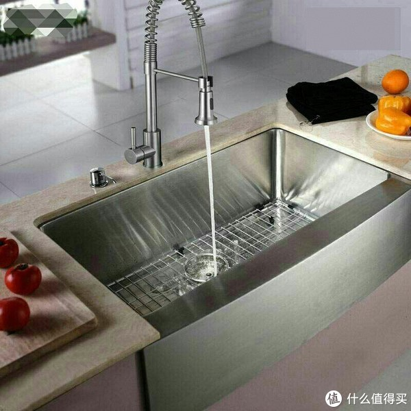 厨房水槽的多种安装方式