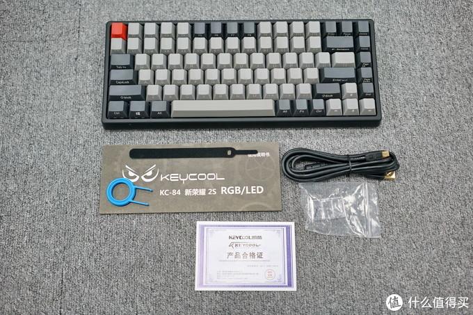 KEYCOOL 凯酷 HERO 84 机械键盘 开箱