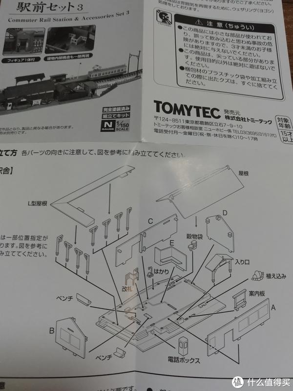 #全民分享季#Takara Tomy Tomytec 073-3车站模型套装