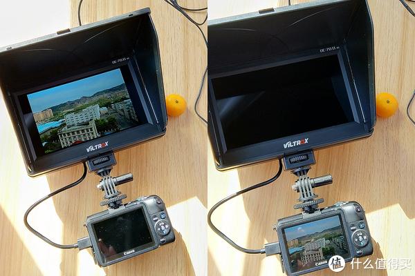 #本站首晒#自拍大屏才够爽:Viltrox 唯卓 DC-70II7寸HDMI 相机监视器 开箱