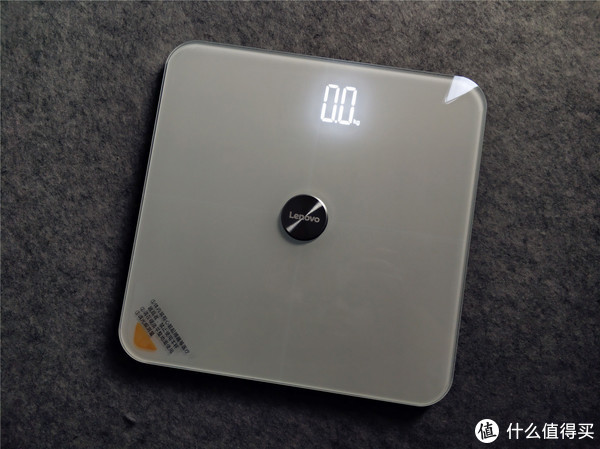 锻炼减脂少不了它—Lenovo 联想 小轻 体脂秤体验