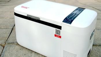 颜值与功能齐飞:indelb英得尔 T20 双温双控智能车载冰箱使用详测
