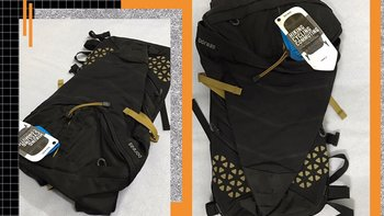 北风之神拉金城市通勤户外运动双肩背包使用感受(面料|口袋|肩带|拉链)