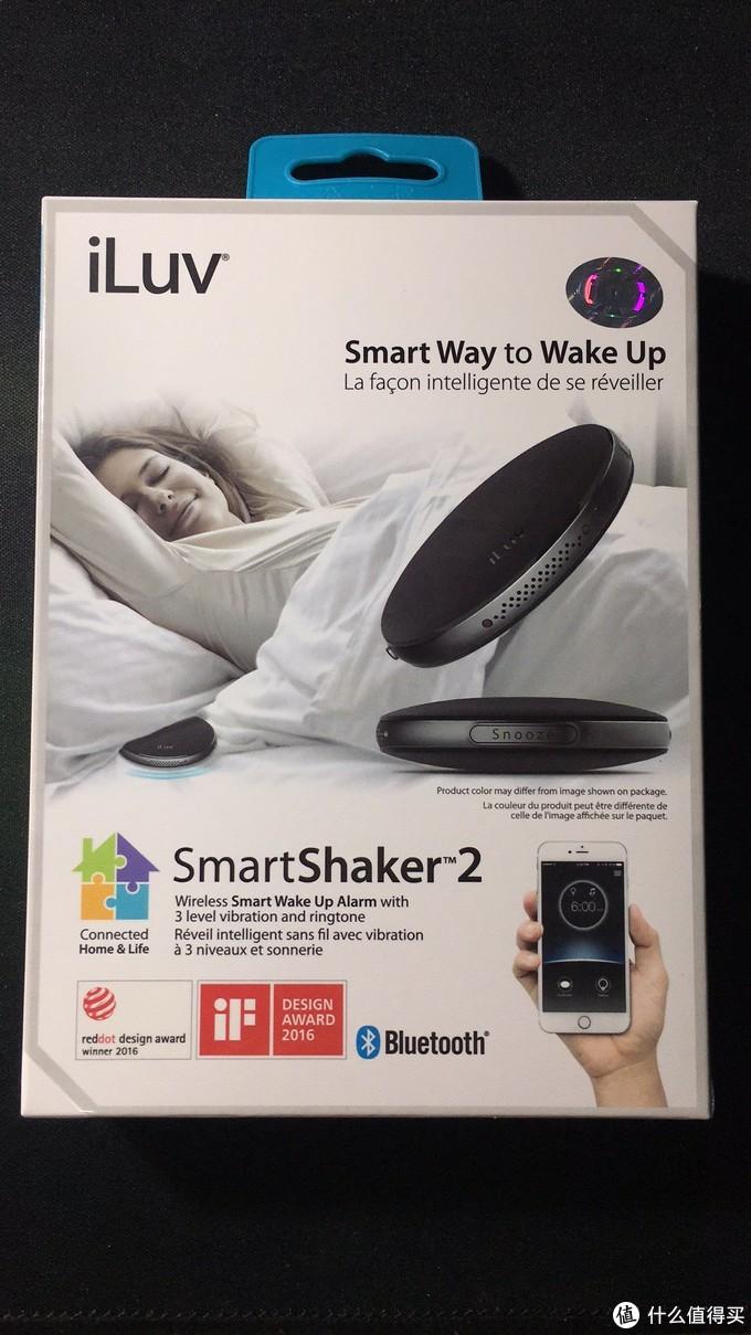 #原创新人# iLuv smartshaker 2 二代  蓝牙震动闹钟