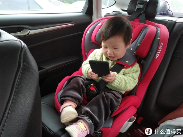 宝宝的第一台安全座椅:Welldon 惠尔顿 酷睿宝PG07-TT 儿童汽车安全座椅 轻体验