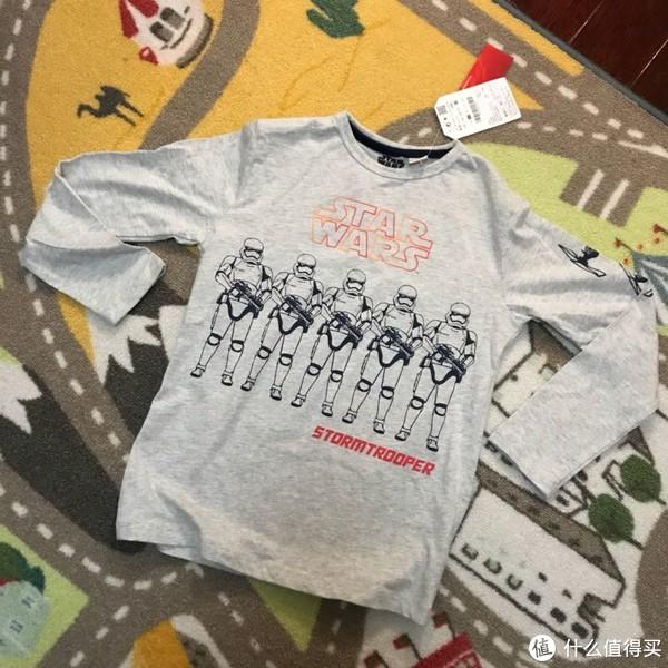 #全民分享季#可以穿出门的Zara星球大战儿童印花睡衣