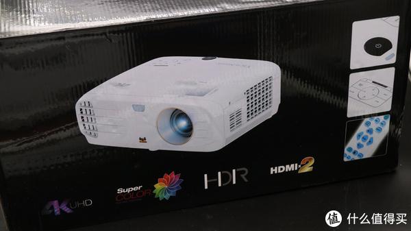 #本站首晒#万元以下的4K投影机—ViewSonic 优派 PX727-4K 投影仪 开箱简测
