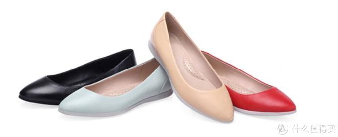简约百搭——COZY STEPS2018春季新款时尚浅口尖头平底鞋评测