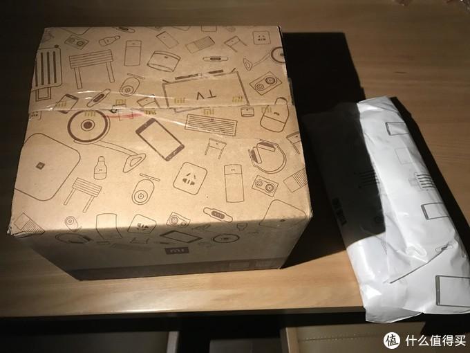 #原创新人#MI 小米 mix 2S 黑色尊享版手机 首开箱,与Iphone7P拍照对比