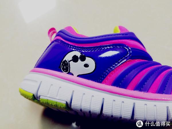 #全民分享季#给孩子一个舒适的鞋—史努比毛毛虫童鞋开箱晒物
