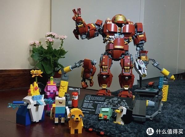 Lego 乐高 反浩克装甲 76105 视频评测,有1个小缺点和无数优点