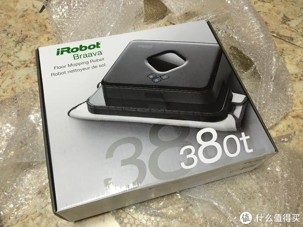 嘿,你老婆喊你回家拖地!iRobot 艾罗伯特 Braava 380T拖地机器人 入手记