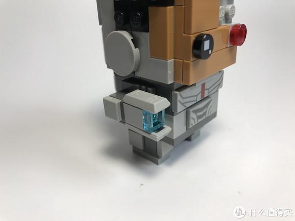 #全民分享季#LEGO 乐高 拼拼乐:萌萌的大头 41601 钢骨 开箱