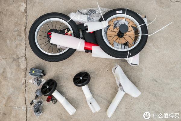 #剁主计划-无锡#给女儿的礼物,写在有纪念意义的一天:Segway 赛格威 Kids Bike 14寸童车