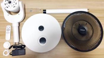 大宇 自然风 循环扇产品设计(旋钮|加长杆|面板)