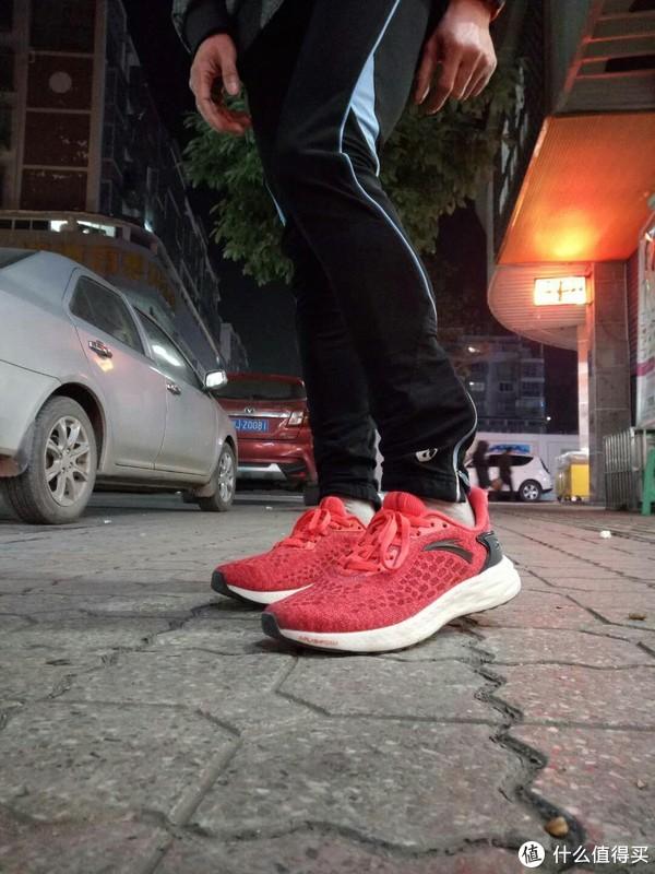 #原创新人#运动场上最耀眼的一抹红!ANTA 安踏 FLASHFOAM 跑鞋 开箱