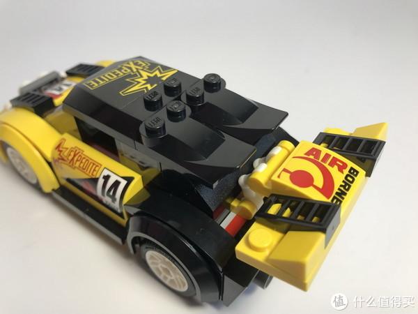 #全民分享季#LEGO 乐高 拼拼乐 城市系列 60113 拉力赛车 开箱