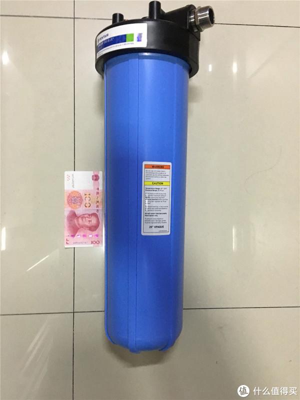 前置净水器的终极之选 滨特尔(PENTAIR)20寸 大蓝瓶