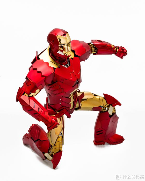 #全民分享季##本站首晒铁甲型男:Hot Toys MMS396 钢铁侠 Mark15鬼祟  1/6限定版可动人偶