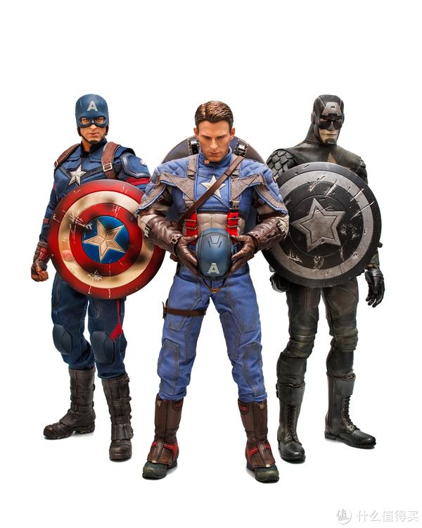 #全民分享季##本站首晒#最完美的英雄:Hot Toys MMS156 美国队长 1/6可动人偶