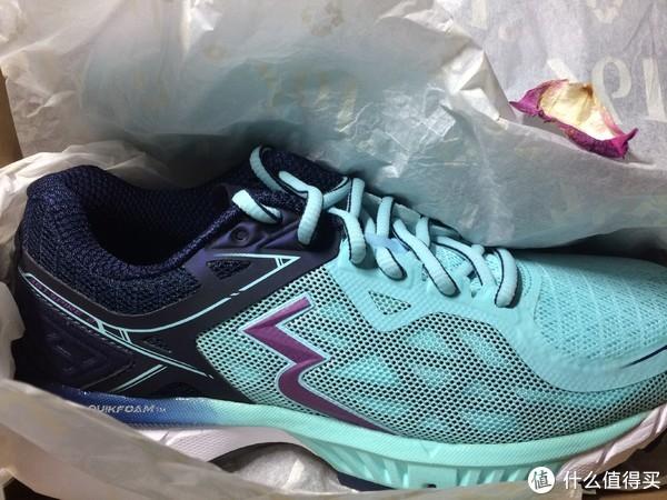 #原创新人#蓝色柔情硬汉—361° 361度 国际线Spire2 跑鞋 测评