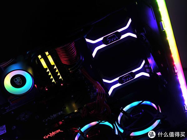 #剁主计划-大连#内骚型Intel 英特尔 i7-8700K CPU + ASRock 华擎 Z370 主板 + GALAXY 影驰 GTX 1070Ti 显卡攒机方案:RGB光效篇