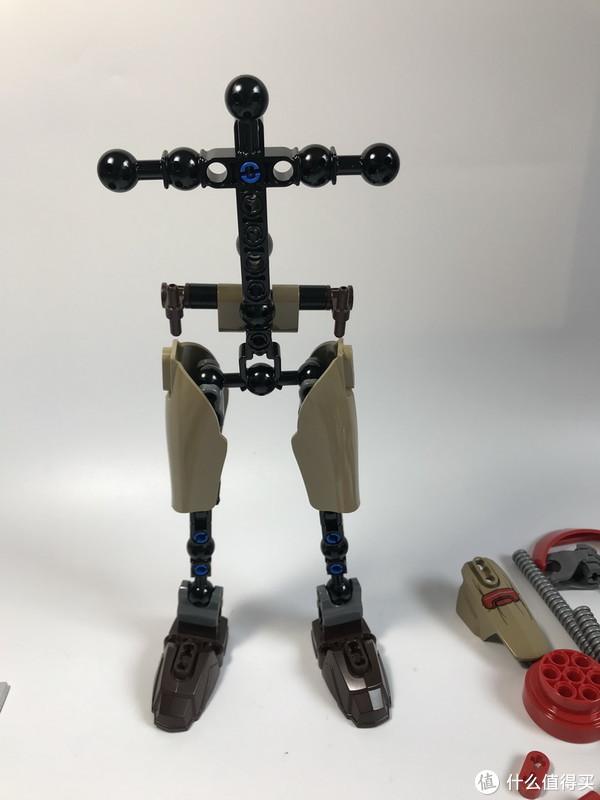 #全民分享季#LEGO 乐高 拼拼乐 大人仔 75525 贝兹·马尔巴斯