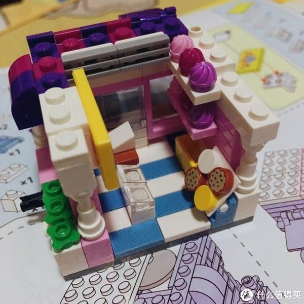 #全民分享季#Loz家的mini街景商业街系列之蛋糕屋的开箱测评