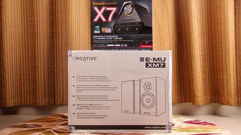创新 SoundBlaster X7 声卡产品展示(包装|收纳盒|线材|造型)