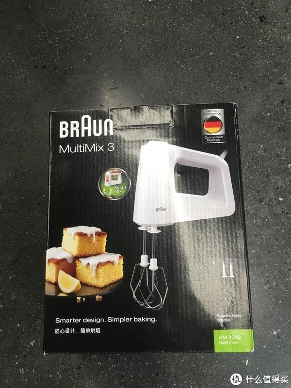 #原创新人#烘焙新萌的初体验 Braun 博朗 HM3000 打蛋器 开箱