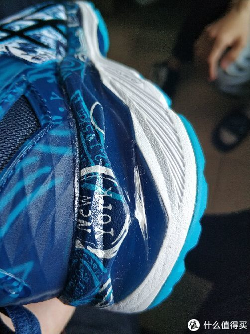 #原创新人#ASICS 亚瑟士 Kayano23 涂鸦配色 跑鞋 开箱简评对比